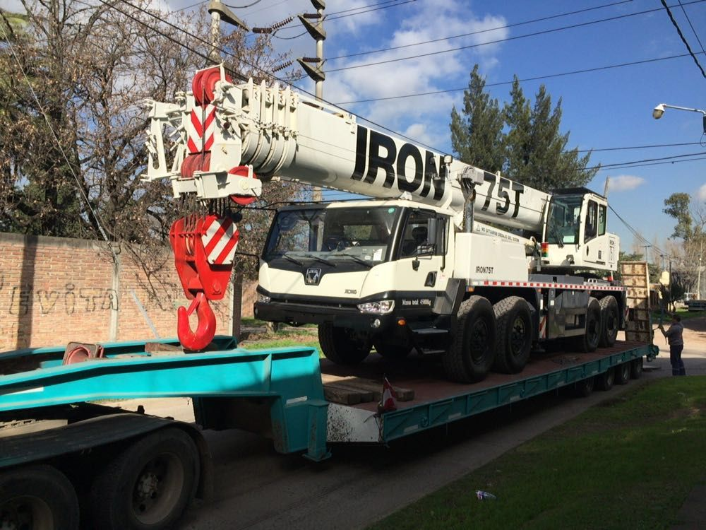Transporte FBM Moving machinery