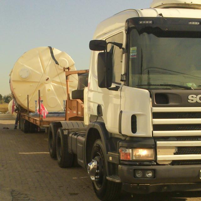 Transporte FBM Moving tank